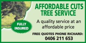 *Affordable Cuts Tree Service - Stump Grinding Rockingham