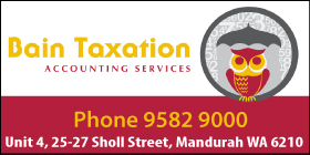 *Bain Taxation Accounting Services - Taxation Mandurah