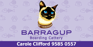 *Barragup Boarding Cattery - Boarding Cattery Barragup Pinjarra