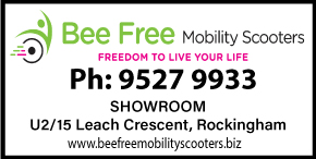BEE FREE MOBILITY SCOOTERS ➜ FREE HOME DEMONSTRATIONS - FREEDOM TO LIVE YOUR LIFE NEW AND USED MOBILITY SCOOTERS AGED CARE AND DISABILITY EQUIPMENT-