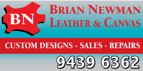 *Brian Newman Leather And Canvas - Riggers Leather Gear Medina