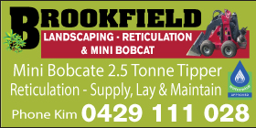 *Brookfield Landscaping Reticulation & Mini Bobcat - Landscaping Mandurah Rockingham BOBCAT WITH DRIVER ONLY $80 P/H