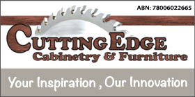 *Cutting Edge Cabinetry & Furniture