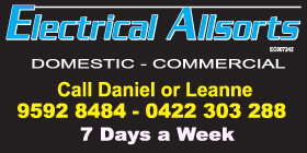 ELECTRICAL ALLSORTS 👍 AFFORDABLE RELIABLE ELECTRICAL TRADESMAN - DEFENCE & SENIORS DISCOUNTS