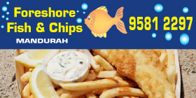 *Foreshore Fish & Chips Mandurah - Takeaways Mandurah