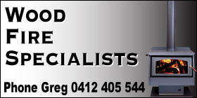 *Greg Hounslow  Wood Fire Specialist - Wood Fires Rockingham