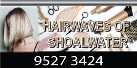 HAIRWAVES OF SHOALWATER - BARBERS  - UNISEX HAIR SALON