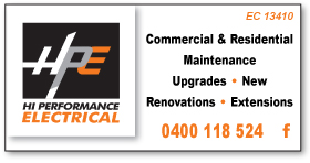 HPE Hi Performance Electrical - Electricians Rockingham