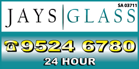 *Jays Glass - Shower Screens and Enclosures Port Kennedy Rockingham