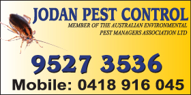 *Jodan Pest Control - Pest Control Safety Bay Rockingham