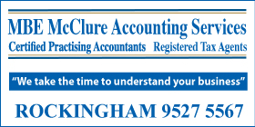 *MBE McClure Accounting Services - Taxation Rockingham