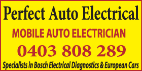 *Perfect Auto Electrical - Mobile Auto Electrician Rockingham -Free Call Out