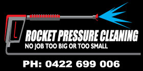 *Rocket Pressure Cleaning - Cleaning High Pressure Rockingham