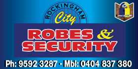 *Rockingham City Robes & Security - Robes Rockingham