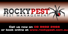 *Rockypest Pest Management - Pest Control Rockingham