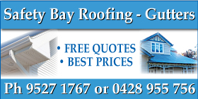 *Safety Bay Roofing - Gutters and Downpipes Safety Bay Rockingham