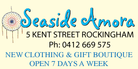 *Seaside Amora - Clothing Giftware Boutique Rockingham