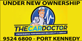 *The Car Doctor NEW OWNER MANAGER - ROCKINGHAM CAR MECHANICS, SERVICING START FROM ONLY $135 - AUTOMOTIVE SERVICE PORT KENNEDY BALDIVIS CAR SERVICING COURTESY CAR - COMPLIMENTARY CAR WASH WITH EVERY SERVICE!