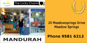 *The Lucky Charm Mandurah - Newsagent Meadow Springs