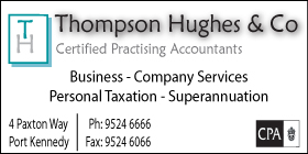 *Thompson Hughes & Co - Taxation Port Kennedy Rockingham