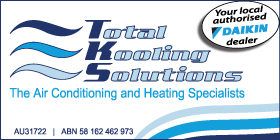 *Total Kooling Solutions Daikin - Commercial Air Conditioning and Heating Rockingham