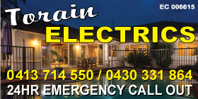 *Torain Electrics - Electricians Rockingham