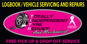 TOTALLY INDEPENDENT TYRE SERVICE AND MECHANICAL ✅ FREE PICK UP AND DROP OFF SERVICE LOGBOOK - VEHICLE SERVICING AND REPAIRS